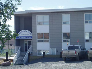 Bachelor apartment for rent in Inuvik