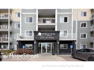 1 Bedroom apartment for rent in Morinville